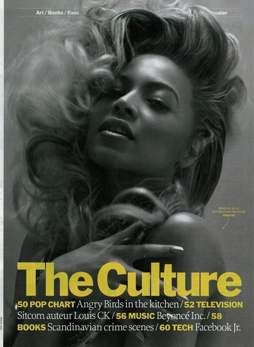 Beyonce Covers Time Magazine