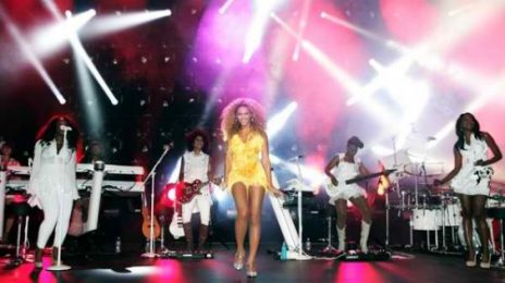 Hot Shots: Beyonce Lights Up London