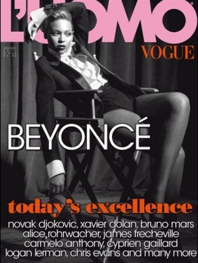 beyonce vogue e1308009740105 Watch:Beyonce Behind The Scenes Of Vogue Shoot