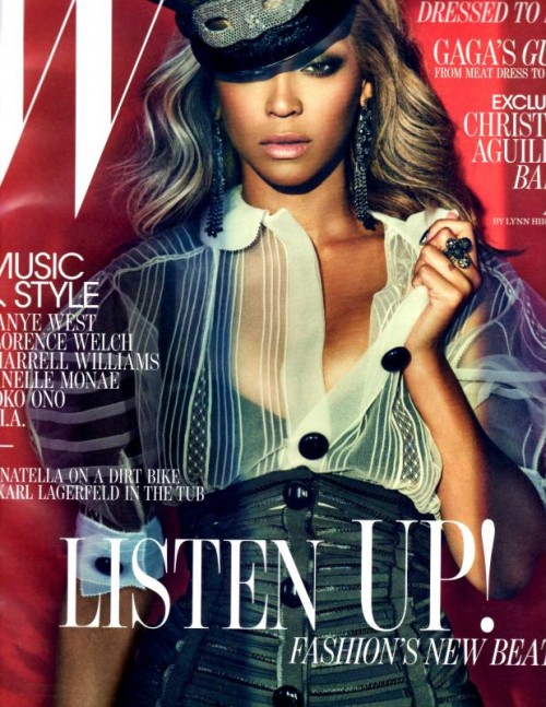 beyonce w cover