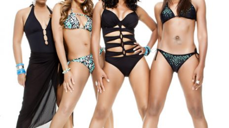Hot Shot: Braxton Sisters Strip Off For VIBE