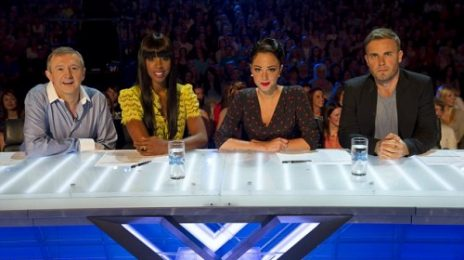 Hot Shots: Kelly Rowland's 1st Day On 'X-Factor UK' Panel