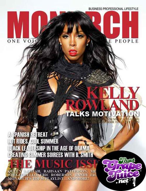kelly rowland monarch Hot Shot: Kelly Rowland Covers Monarch