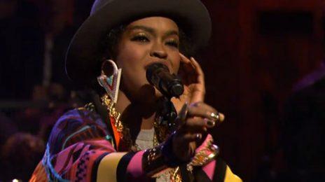 Watch:  Lauryn Hill Does Her 'Doo Wop' on Fallon
