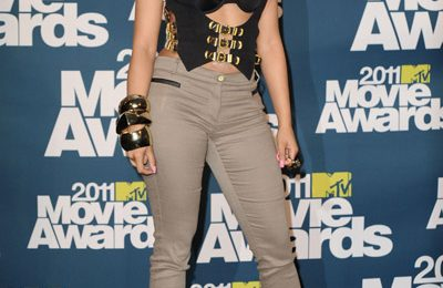 Hot Shots: Nicki Minaj Arrives At MTV Movie Awards