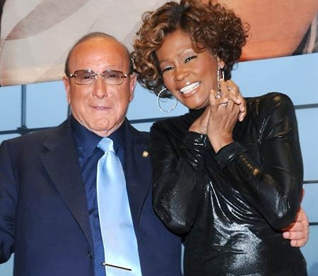 whitney clive e1307629805584 Clive Davis On Whitney Houston: Were Not Making Another Record Until Her Voice Is Back