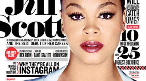 Jill Scott Covers Billboard Magazine
