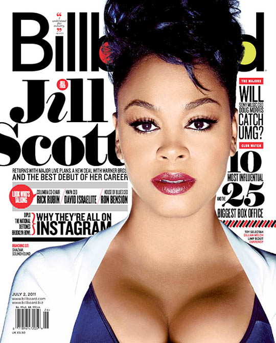 ws8d95 Jill Scott Covers Billboard Magazine