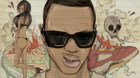 Hot Shot: Chris Brown- 'Boy In Detention' Mixtape Cover