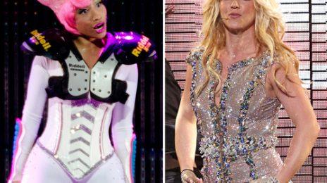 Britney Spears Critiques Nicki Minaj