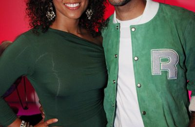 Hot Shot: Alicia Keys And Swizz Beatz Dazzle At Reebok Event