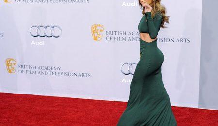 Hot Shots:  J.Lo Glows at BAFTA Event