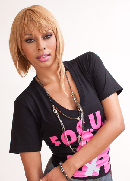 Keri Hilson Hot Shot: Keri Hilson Stands Up To Cancer