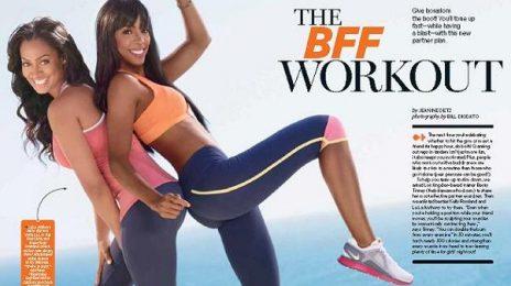 Hot Shots:  Kelly Rowland Keeps In 'Shape'