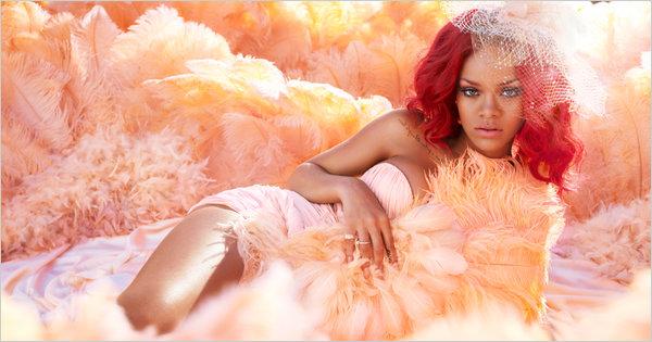 Rihanna Rebl Fleur Promo Pic Watch: Fans Try To Snatch Rihannas Wig