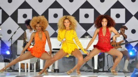 Beyonce Performs On GMA
