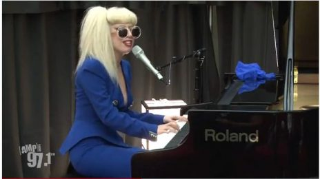 Lady Gaga 'Amps' Up Fans with 'You & I' Performance