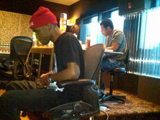 img 20110515 00348 Hot Shot: Frank Ocean In Studio With Jay Z