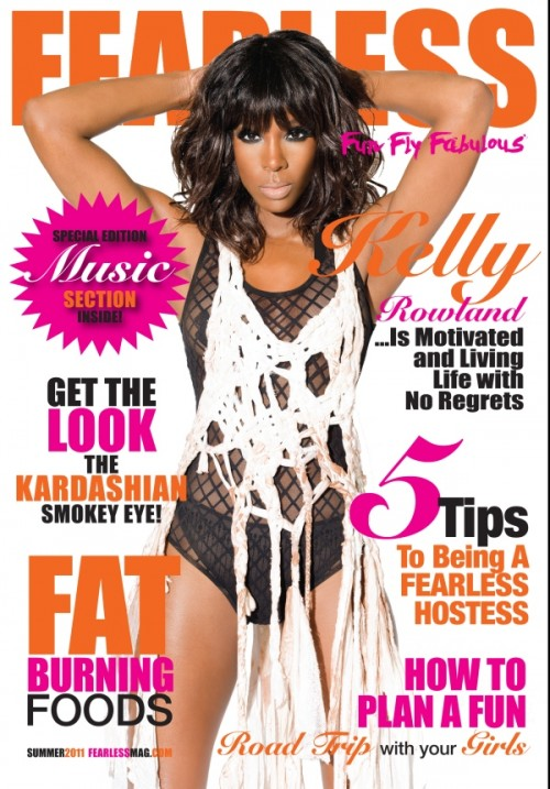 kelly rowland fearless e1311864401108 Hot Shot: Kelly Rowland Covers Fearless