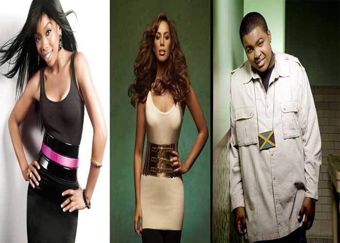 majors minors mentor Leona Lewis & Sean Kingston Join Major Mentors