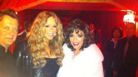 Hot Shot: Mariah Carey Parties In London