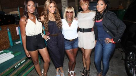 Hot Shots: Mary J. Blige Catches Up With The Braxtons