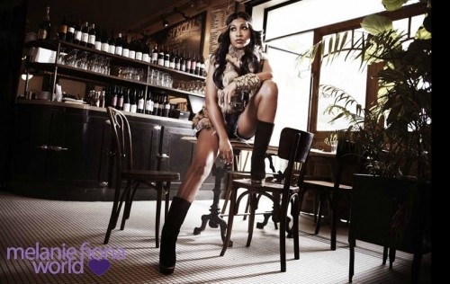 melanie fiona 1 e1311873510561 Hot Shots: Melanie Fiona Strikes A Pose In New Promo Pics