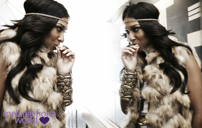 melanie fiona 6 Hot Shots: Melanie Fiona Strikes A Pose In New Promo Pics