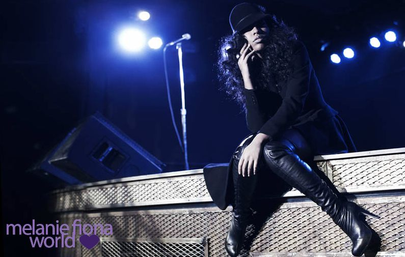 melanie fiona 7 Hot Shots: Melanie Fiona Strikes A Pose In New Promo Pics