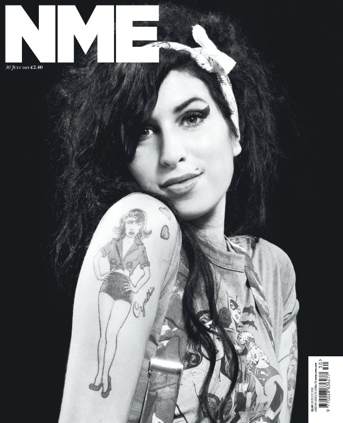nme new issue tribute to amy winehouse 020811 Amy Winehouse Covers NME Magazine