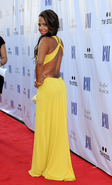 C Milian BMI Hot Shots: Christina Milian And Drake Sizzle At BMI Urban Awards