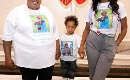 Hot Shots:  Jennifer Hudson Remembers Nephew Julian