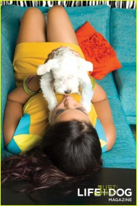 Jordin sparks Life Dog Mag1 200x300 Hot Shots:  Jordin Sparks Strikes a Pose For Pooches