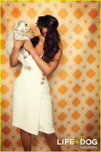 Jordin sparks Life Dog Mag5 200x300 Hot Shots:  Jordin Sparks Strikes a Pose For Pooches