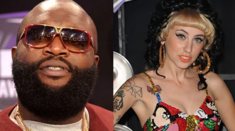 Rick Ross/Kreayshawn Camps Cause a Commotion Backstage at MTV VMA