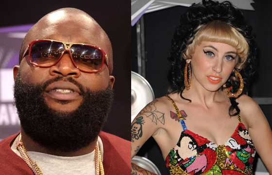 Rick Ross Kreayshawn Rick Ross/Kreayshawn Camps Cause a Commotion Backstage at MTV VMA