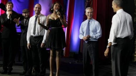 Watch:  Jennifer Hudson Sings 'Happy Birthday' For Obama
