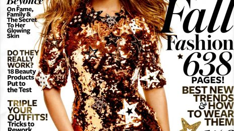 Hot Shot: Beyonce Glimmers 'InStyle'
