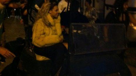 Hot Shots: Beyonce Shoots 'Party' Video