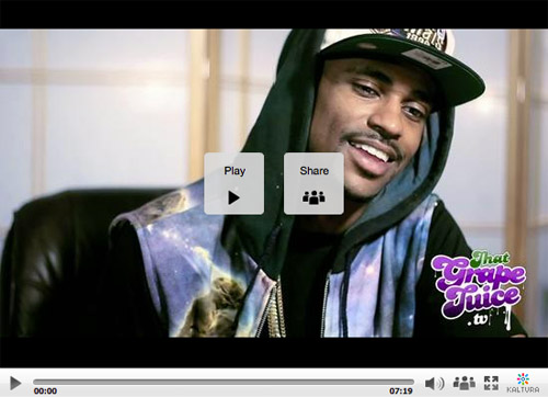 big sean interview 4 That Grape Juice Interviews Big Sean