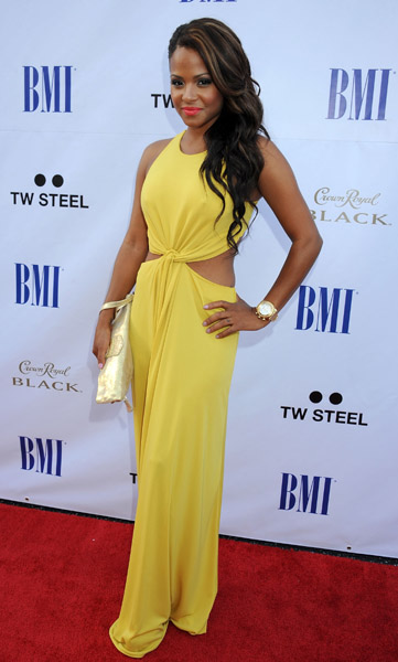 c milian BMI 11 Hot Shots: Christina Milian And Drake Sizzle At BMI Urban Awards