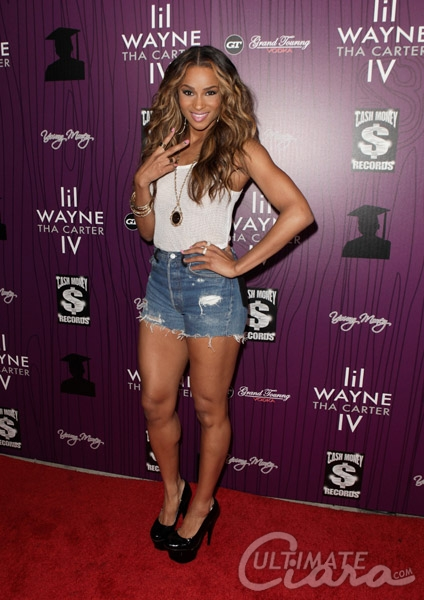 ciara carter iv 21 Hot Shots: Ciara Attends The Carter IV Release Party