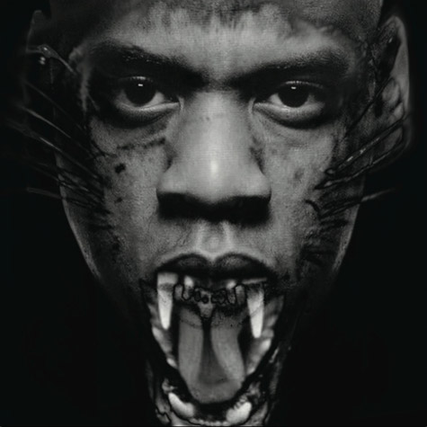 jay throne Hot Shots: Jay Z & Kanye Get Beastly In New Watch The Throne Promos
