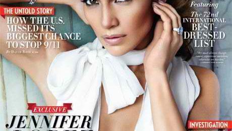 Behind the Scenes:  Jennifer Lopez Vanity Fair Shoot