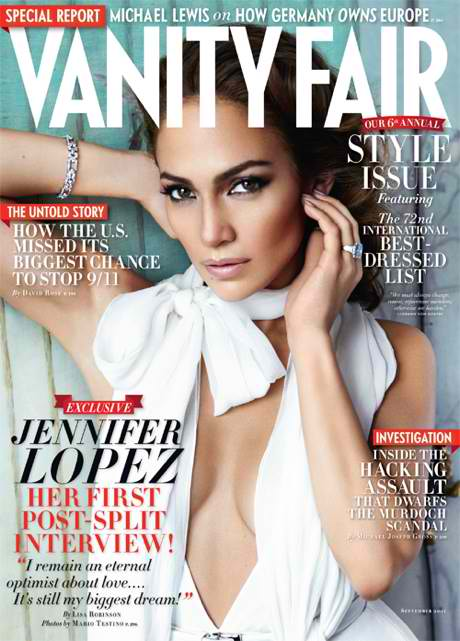 jlo vanity fair J.Lo Talks Marc Anthony In 1st Post Split Interview