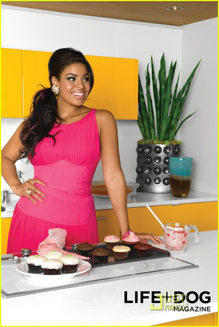 jordin sparks life dog mag 031 Hot Shots:  Jordin Sparks Strikes a Pose For Pooches
