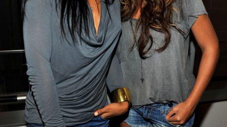 Hot Shots: Beyonce & Kelly Rowland Reunite In NYC