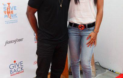 Hot Shots: Kelly Rowland & Luke James Light Up 'Save The Music'