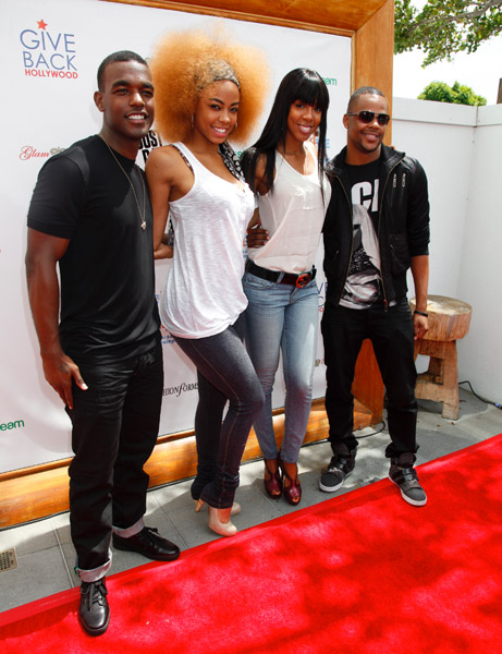 kelly vh1 Hot Shots: Kelly Rowland & Luke James Light Up Save The Music