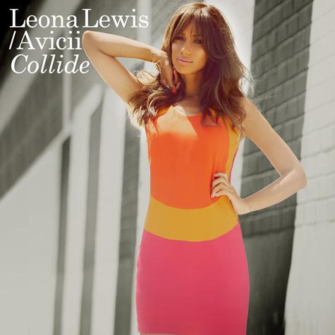 leona lewis collide Hot Shot:  Leona Lewis Colorful Collide Cover